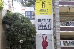 A day after searches were held at the office of Amnesty International India, confidential government documents reviewed by HT claimed that the non-governmental organisation received Rs 36 crore while it had permission  to receive Rs 1.69 crore from abroad.