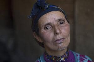 Photos: In Morocco, tribal tattoos fade with age