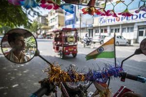 Photos: India zips past China with a silent e-rickshaw revolution
