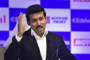 Union minister Rajyavardhan Rathore has announced that he will give ₹100,000 to those who can find a panchayat in his Rajasthan constituency where he had done no work.