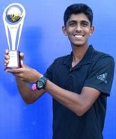 Siddhant Banthia won the finals of the second edition of the HCL Asian B1 tennis championship as he cruised past Sergey Fomin 6-1,6-4 in the finals held at Deccan gymkhana, Pune.