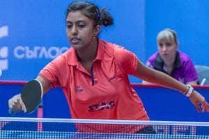 Ayhika Mukherjee won silver in the ITTF Challenge Belgium Open in the under-21 women's singles category.