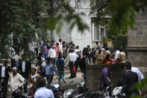 Situation at Pune court when activists were brought in connection of Koregaon Bhima violence