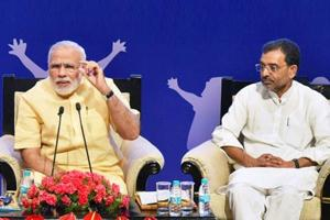 Kushwaha, a former JD(U) leader who had quit the party in 2013, months after suspension on disciplinary grounds, had floated his own outfit and joined the NDA while Nitish Kumar's party was out of the BJP-led coalition.