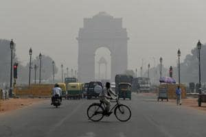 For Punjab, the average Air Quality Index (AQI) during October was 100, with Delhi recording it at 400.