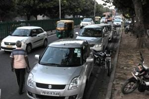 Wrong parking turns Chandigarh apni mandis a hotbed for traffic snarls
