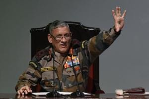 Army chief General Bipin Rawat Monday said the Army was looking into reports of snipers entering the Kashmir Valley to target defence personnel.