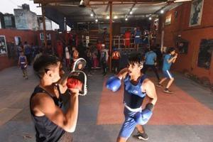 Photos: An uppercut to cricket, wrestling in Najafgarh boxing academies