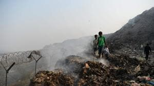 Many of them have gone beyond their permissible operational period because there are no alternative sites. Such sites are now as high as 50-60 m above the ground level, and have also become unstable because of garbage disposal