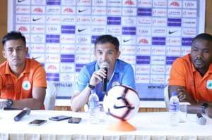Neroca FCface Gokulam Kerala FCin the I-League.