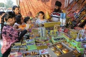 Chandigarh administration issues firecracker licences to 96 traders