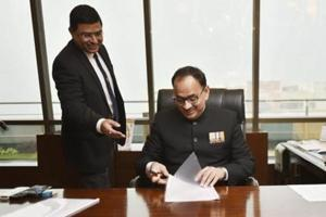 The Central Vigilance Commission (CVC) on Tuesday examined some CBI officials probing crucial cases which figured in special director Rakesh Asthana's complaint of corruption against the probe agency's chief Alok Verma, officials said.