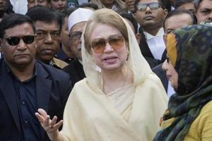 Khaleda Zia denied wrongdoing and her Bangladesh Nationalist Party (BNP) says her conviction in February is aimed at keeping her and her family out of politics.