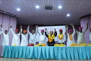 Leaders of various caste groups have been demanding that the BJP and the Congress give them adequate tickets for the December 7 Rajasthan assembly elections (File photo)
