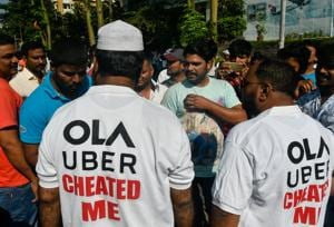 Since October 22, the majority of the Ola and Uber cab drivers have been on an indefinite strike