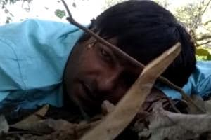 Doordarshan video journalist Mor Mukut Sharma was part of the team that was attacked by Maoists on October 30.