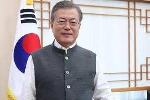 """In a series of tweets posted today, President Moon thanked PM Modi for sending him """"Modi Vests""""."""