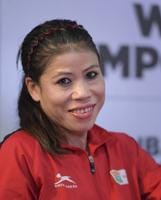 Mary Kom, Indian woman boxer and brand ambassador for the AIBA Women