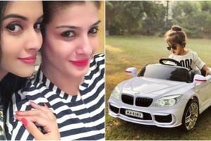 Asin shared pictures of Raveena Tandon's birthday gift for her daughter.