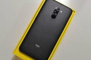 Xiaomi Poco F1 starts at Rs 20,999 in India with four colour options.