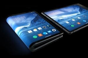 The world's first foldable phone has a large 7.8-inch fully flexible display