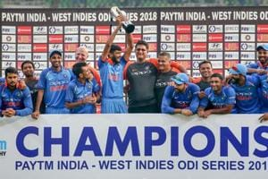India vs West Indies: India rout Windies by nine wickets, win series 3-1