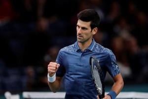 File picture of Novak Djokovic