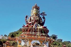 Sikkim unveils tallest Chenrezig statue