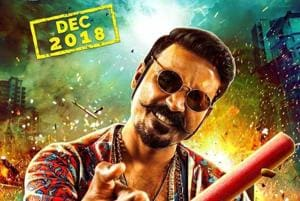 Maari 2 first look:Dhanush is back as the local goon with his swag intact.