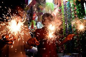 The tests found that of the 36 firecrackers, hazardous metals such as lead was detected in 14 firecrackers.