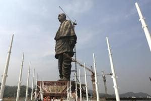World's tallest statue - The Sardar Patel statue that was inaugurated on October 31 inGujarat