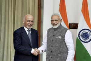 PM Narendra Modi with Afghanistan president Ashraf Ghani. In Afghanistan, after completing the Afghan-India Friendship Dam and the Parliament building, India is set to take up the Shahtoot dam in the Kabul river basin, a project to supply much needed drinking water to the Afghan capital.