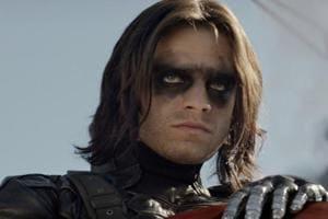 Sebastian Stan as the Winter Soldier.