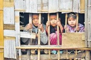 More than 32,000 Brus had fled Mizoram following ethnic clashes in 1997 and have been living in relief camps in Tripura. Several parties and groups in Mizoram feel they should not be allowed to cast votes for the assembly polls in the relief camps in Tripura.