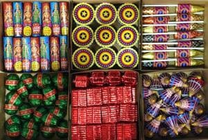 Mahim-based home baker Sarika Shahu has found an innovative way to combine the tradition of exchanging sweets and bursting firecrackers, with her unique brand of edible firecracker chocolates.