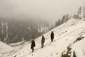 Kashmir Valley witnessed snowfall in the month of November for the first time since 2009.