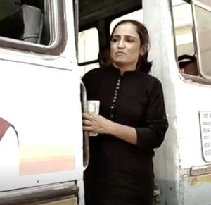 Rewari resident Sharmila was hired as bus conductor on a three-month contract by the Haryana government during the 18-day strike by state roadways' employees.