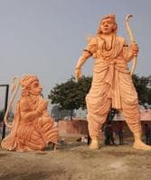 A 30 feet statue of Ram has been constructed for Deepotsav celebrations in Ayodhya.