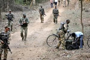 Police said the gun battle between the commandos of the special operations group (SOG) and Maoists took place during a combing operation in the Bejingwada forest under Kalimela police limits early on Monday.