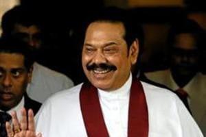 Sri Lankan Speaker Karu Jayasuriya Monday said he will not recognise Mahinda Rajapaksa as the new premier unless he wins a floor test.