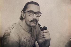 Aamir Khan is trying to quit smoking by taking up a pipe.