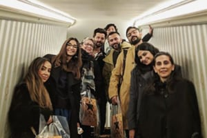The Kapoors watched Hamilton in London.
