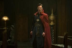 Benedict Cumberbatch plays Dr Stephen Strange in the Marvel Cinematic Universe.