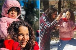 Kangana Ranaut is celebrating Diwali in Manali this year.