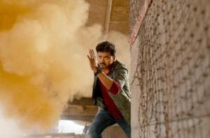 In Sarkar, Vijay earns the applause and cheers from audience for himself rather than the film.