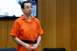 File image of former team USA gymnastics doctor Larry Nassar.