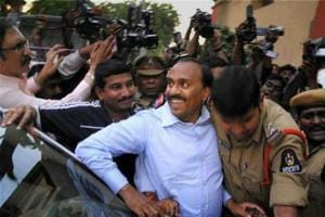 Mining baron and former Karnataka minister G Janardhana Reddy is being probed by the Bengaluru police after the accused in  a ponzi scam alleged he had paid him a large sum of money for help in the case against him (File photo)