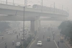 Man-made factors such as stubble burning in Punjab and Haryana and local emissions inside Delhi compound the problem.