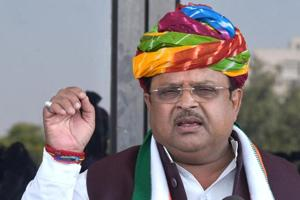 Raghu Sharma is Congress MP from Ajmer and chairperson of the campaign committee in Rajasthan.