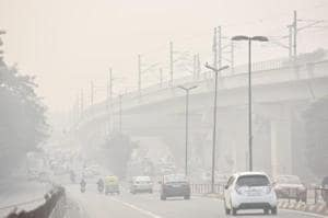 Heavy smog engulfed after diwali celebrations in National capital